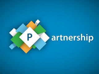 PARTNERSHIP (handshake business contract collaboration)