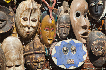 African masks for sell