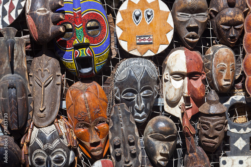 African masks for sell - 71033730
