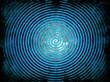 blauer Spiralformhintergrund...