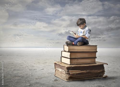 Leinwanddruck Bild Education