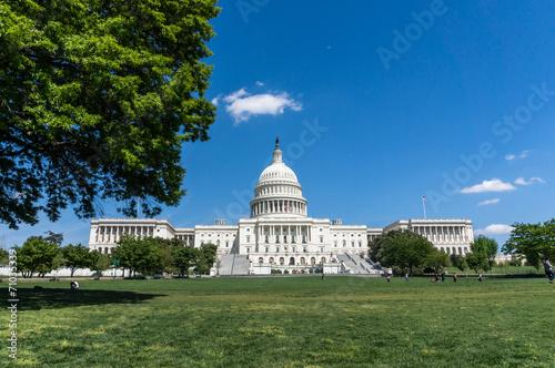 Leinwanddruck Bild USA Capitol Hill
