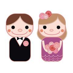 結婚式お色直しドレス 紫
