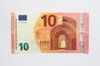 Leinwanddruck Bild - Vorderseite neuer Zehn Euro Geldschein aus der Europa-Serie