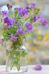Bouquet flower in vase