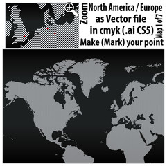 Punkte_Weltkarte_North America_Dark_Cs5