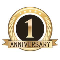 One Year Anniversary Badge