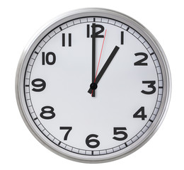 1 o'clock