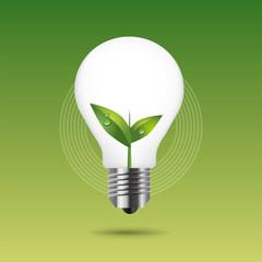 環境問題・エコ・アイデア・電球