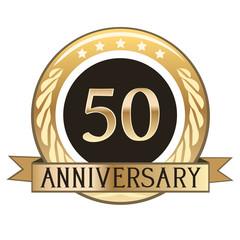 Fifty Year Anniversary Badge