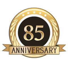 Eighty Five Year Anniversary Badge