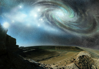 cosmos space mountains