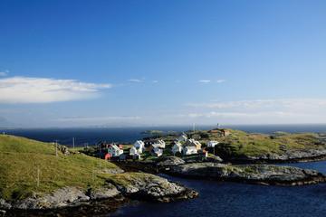 isola di ona norvegia paesaggio