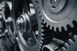 Leinwandbild Motiv Cog wheels