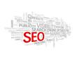 """SEO"" Tag Cloud (search engine optimization visibility traffic)"