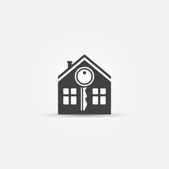 House and key icon