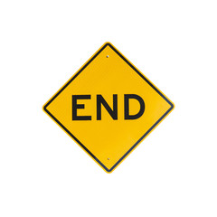 "Sign ""END"""