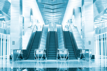 Escalator at the underground