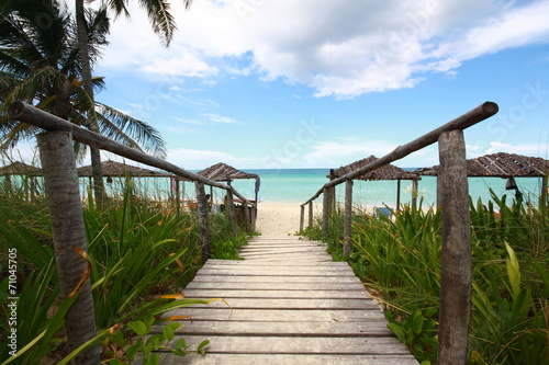 Tuinposter Centraal-Amerika Landen playa,cayo coco,cuba