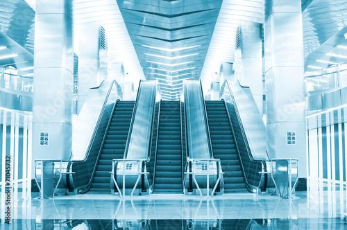 Escalator at the underground - 71045732