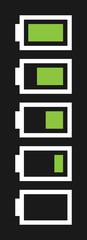 vector battery fullness indicator