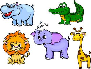 animals wild set first