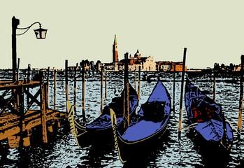 Venice lagoon,Italy