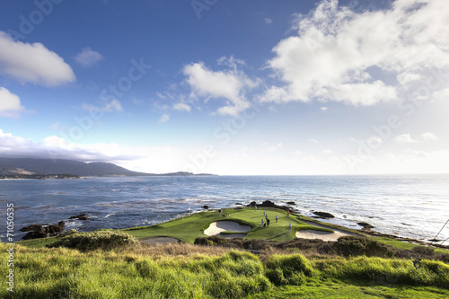 Fotobehang Golf Pebble Beach golf course, Monterey, California, USA