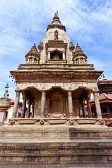 Newari temple in Bhaktapur, Nepal