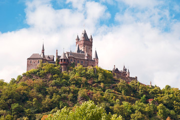 Die Reichsburg über Cochem an der Mosel