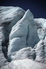 Glacier Face In Sunshine