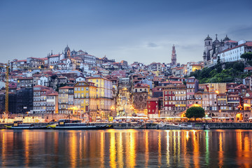 Porto, Portugal from Across the Douro River