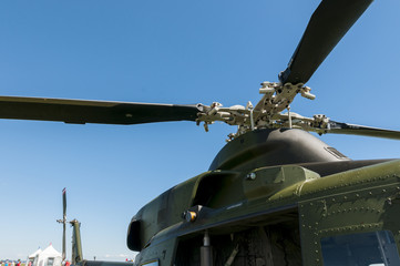 Military helicopter propeller