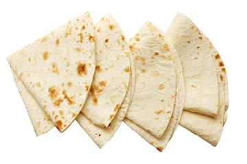 pita bread, isolated