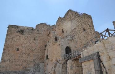 El Castillo de Ajloun, Jordania