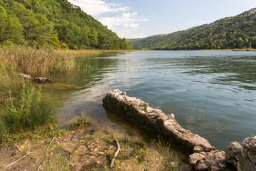 Embouchure de la rivière Krka