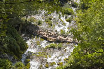 Bridge On Sopotnica Waterfall, Serbia