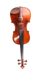 Red Violin Isolated