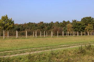 Stacheldrahtzaun der ehemaligen deutsch-deutschen Grenze