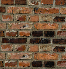 old brick wall . Background of brick wall texture
