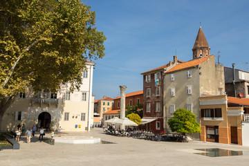 Place des 5 puits de Zadar