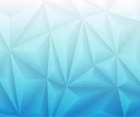 Abstract Geometrical Blue Gradient Background.