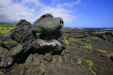Lava Rock Formation