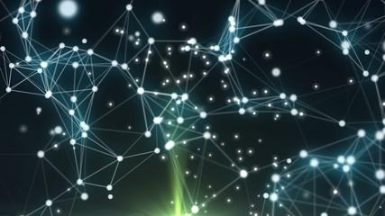 Hypercube 3d particles