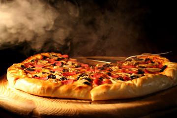 Hot pizza