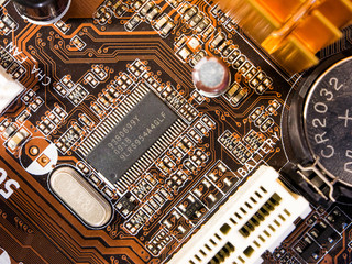 Chip on mainboard