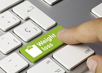 Weight loss. Keyboard