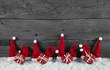 Weihnachtlicher Rahmen oder Hintergrund Holz in rot, weiß, grau