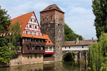 Weinstadel und Wasserturm Nürnberg