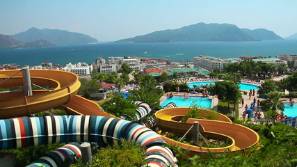 Aqua Park in Turkey